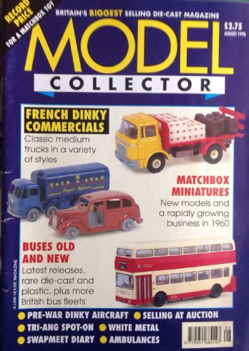 ORIGINAL MODEL COLLECTOR MAGAZINE August 1998